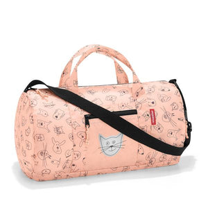 REISENTHEL Mini Maxi Duffelbag S Kids Cats and Dogs Rose