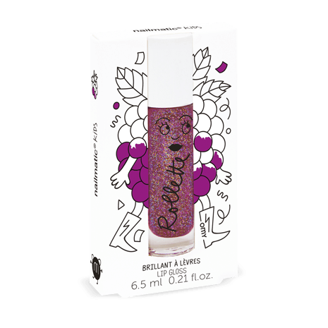 NAILMATIC KIDS - Rollette - Blackcurrant - Lip Gloss