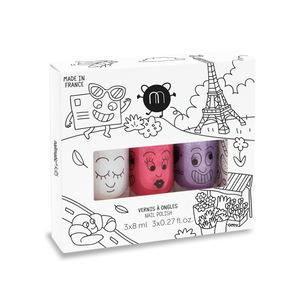 NAILMATIC KIDS - Nail Polish Set - City
