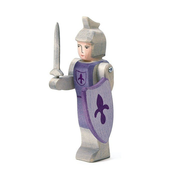 OSTHEIMER Knight standing blue with sword