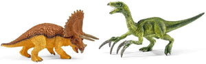 SCHLEICH Triceratops And Therizinosaurus, Small (42217)