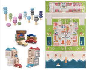 Bundle FREE IVI Small Carpet with Lubulona and Waytoplay cars