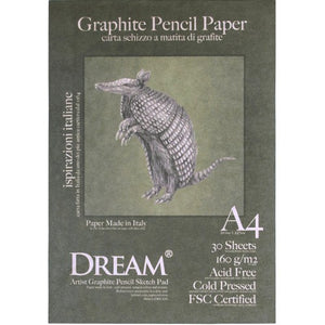 DREAM Graphite Pencil Paper 160gsm A4 -30's