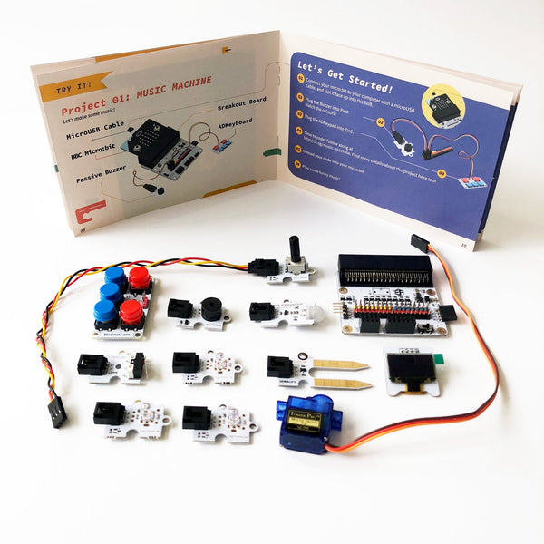 TINKERCADEMY micro:bit Kit (without micro:bit)