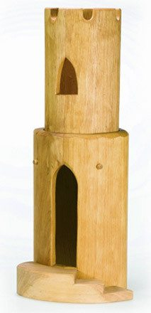 OSTHEIMER Round Tower 2 pc with Stairs