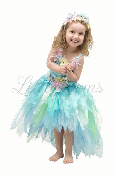 LITTLE GEMS Mermaid Fantasy Dress