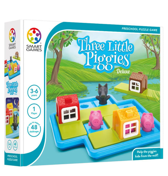 SMART GAMES Three Little Piggies - Deluxe