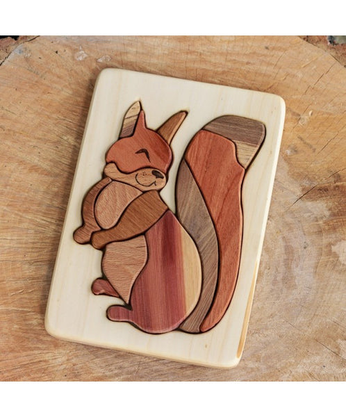 COCOLETES Squirrel puzzle