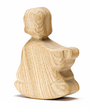 *** OBSELETE *** OSTHEIMER Natural wood Rocking Boy