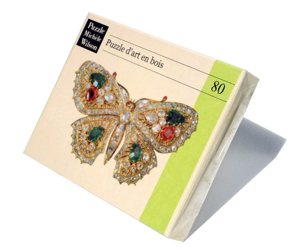 PMW Broche papillon ART DECO