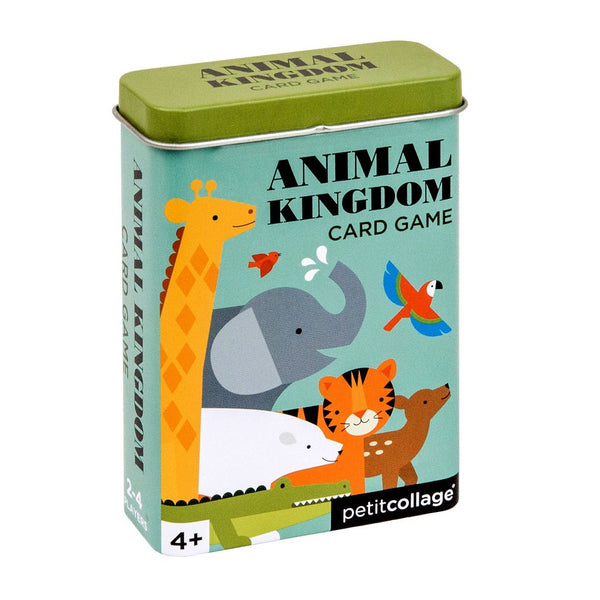 PETIT COLLAGE Card Games On The Go - Animal Kingdom