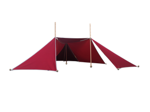 BUNDLE ABEL Tent Ultimate set - Red
