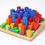 GRIMM'S stepped counting blocks 2 cm, 100 pcs