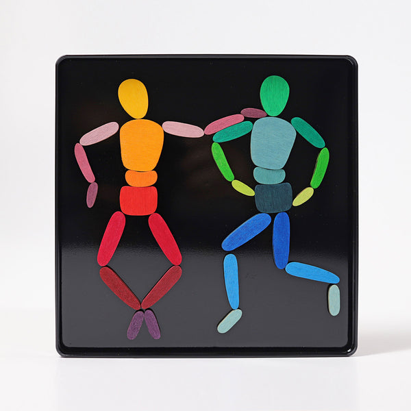 GRIMM'S mini magnetic puzzle set Inmotion with 2 bodies