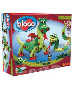 BLOCO Dragons & Reptiles