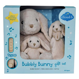 CLOUD B Bubbly Bunny Gift Set of 3