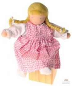 GRIMM'S dress up doll, pink