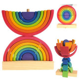 GRIMM's stacking tower rainbow