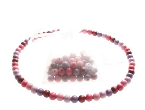 GRIMM'S 60 Beads, purple-pink, 12 mm