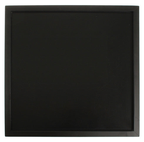 GRIMM'S magnetic board, black, 50 x 50 cm