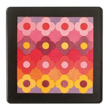 GRIMM'S mini magnetic puzzle little flower, red