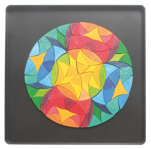 GRIMM'S mini magnetic puzzle circle phantasy, 104 pcs.
