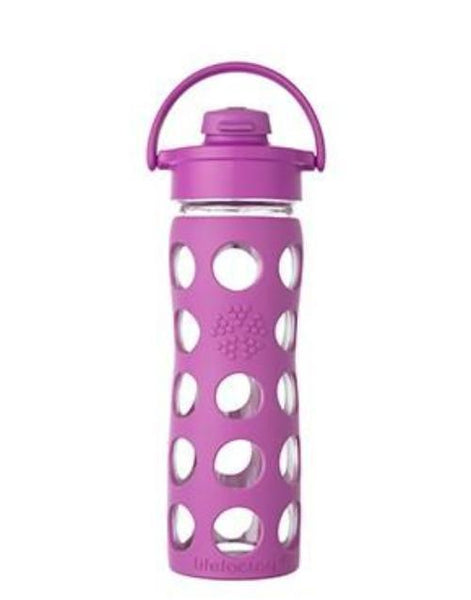 LIFEFACTORY Glass Bottle 16oz - Flip