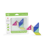TEGU Travel Pal Hummingbird 6 Piece