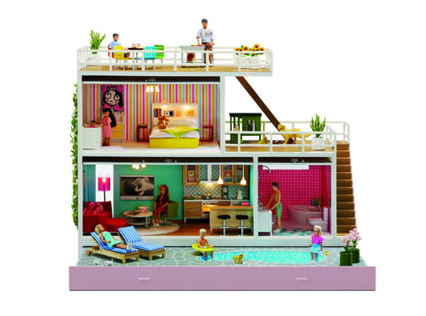 LUNDBY Stockholm Dollhouse Flatpacked
