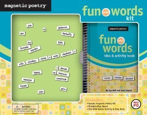 MAGNETIC POETRY Fun With Words Kit