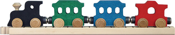MAPLE LANDMARK NameTrain Passenger Train Car Set