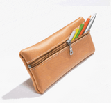 RUITERTASSEN School pencil bag leather natural
