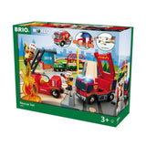 BRIO Rescue Train Set