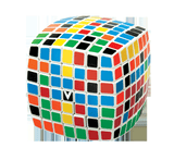 V-CUBE 7 White Pillow