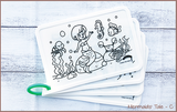 COLOUR ME MATS Mermaid's Tale (Colouring Mat Only)