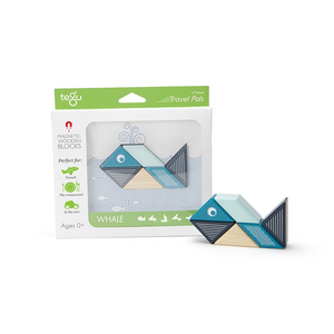 TEGU Travel Pal Whale (6 Piece)