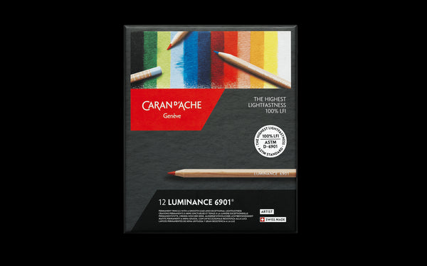 Caran d'Ache Luminance 6901 12 (Permanent Coloured Pencil)