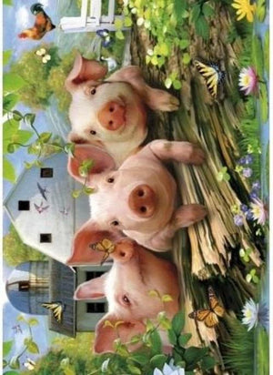 WENTWORTH PUZZLES Three Little Pigs