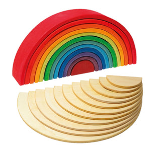BUNDLES Grimm's Large Rainbow + Natural Semicircles