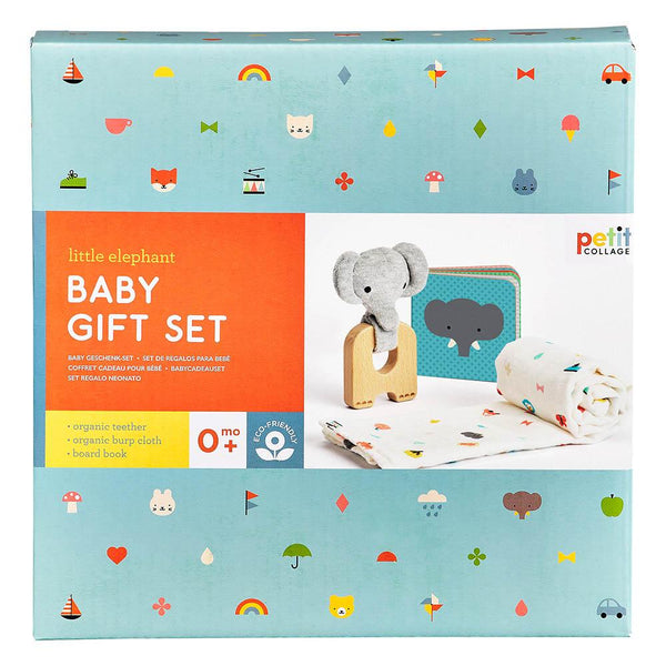 PETIT COLLAGE Little Elephant Gift set
