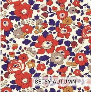 ELIZABETH LITTLE Liberty Print 2 Ply Mask FC - Adult (Betsy Autumn)