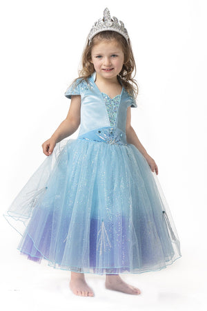 LITTLE GEMS Queen Elsa Lt.Blu