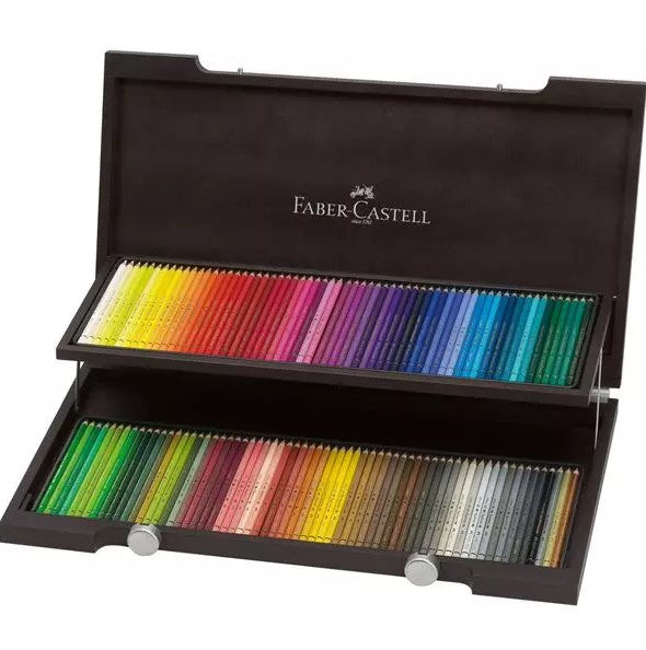 FABER-CASTELL Polychromos Colour Pencil, wooden case of 120