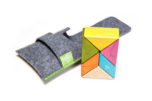 TEGU 6 Piece Pocket Pouch Prism in Tints