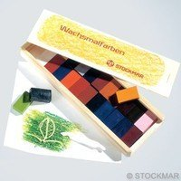 STOCKMAR block crayons 24 assorted (wooden box)