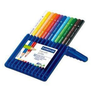 STAEDTLER Ergosoft jumbo coloured pencil 12 pcs