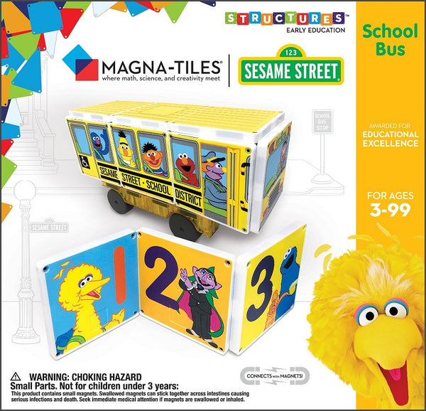 CREATEON Sesame Street - School Bus