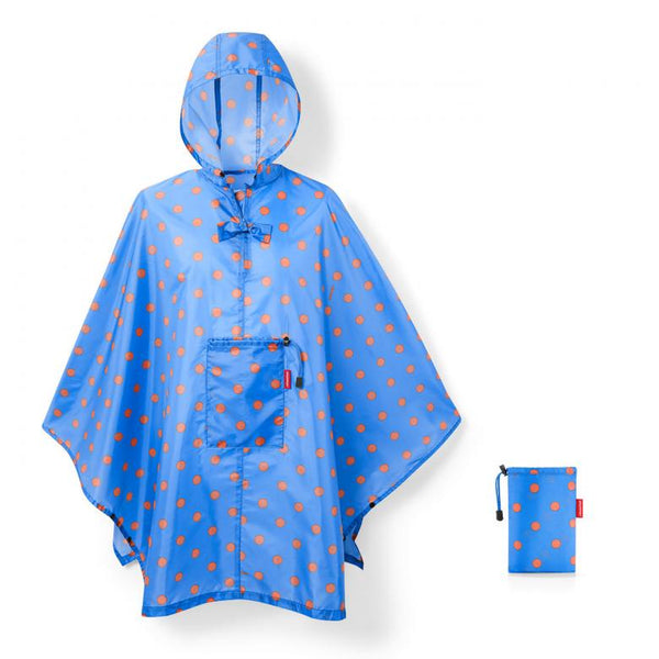 REISENTHEL Mini Maxi Poncho XL Azure Dots