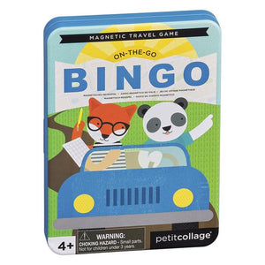 PETIT COLLAGE Magnetic Travel Game - Travel Bingo