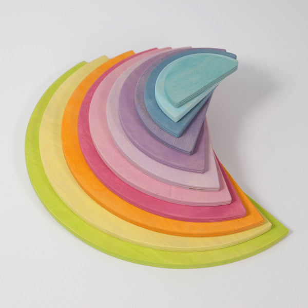 GRIMM'S Pastel Semicircles, 11 pieces